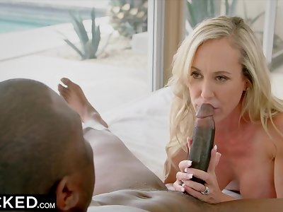 BLACKED Brandi Love Fucks Her Step Daughters BBC Boyfriend When Shes Gone