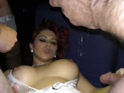 German gangbang in cinema