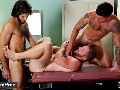 Mencom - Doctor joins in couple fantasy 3some - Diego Sans, Vadim Black