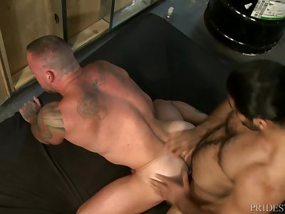 PrideStudios Daddy Ali Liam Analized By Hunk Sean Duran  HOT