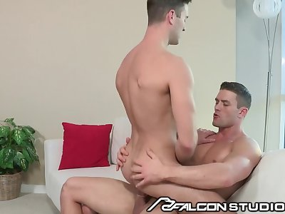 FalconStudios Incredible Hunk Ryan Rose Slams Ass