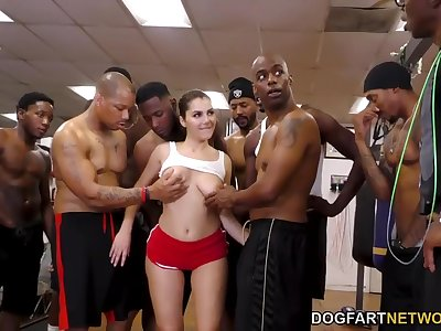 Valentina Nappi's Interracial Work Out