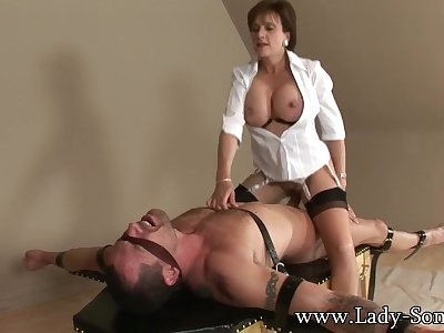 Lady Sonia Strapped Down And Fucked Firm