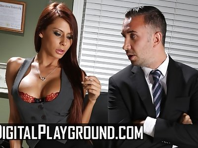 Digital Playground - Big titty Madison Ivy likes it rough in the office