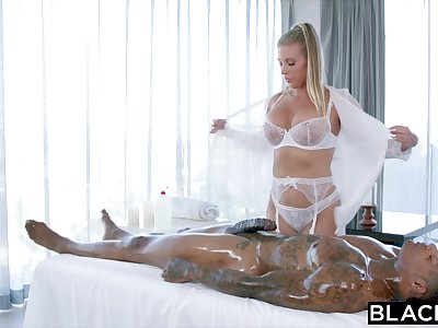 BLACKED Samantha Saint Cant Resist Big black cock and Rimming