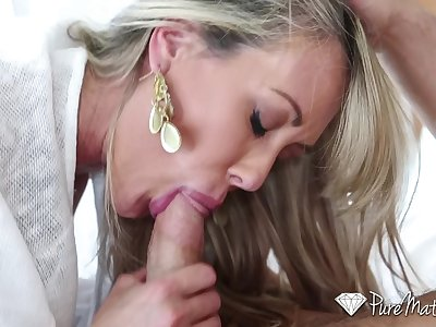 PureMature - Luxurious milf Brandi Love fucked