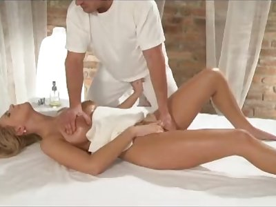 Massage apartments - Young busty babe has big tits