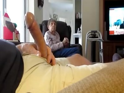 flashing cock to wifes mother
