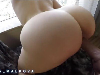 Mia Malkova bouncing her perfect ass on a big dick before getting internal ejaculation