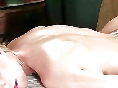 Hot nubile masseuse given strong orgasm 12